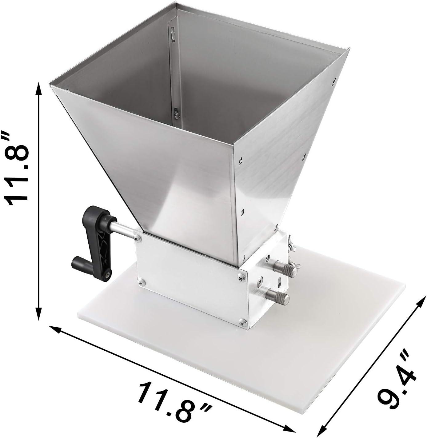 Tofree broyage Machine Hand-Crank Rouleau Machine /à caf/é Moulin /à c/ér/éales en Bois Manuel Moulin /à caf/é /à la Main Moulin /à caf/é