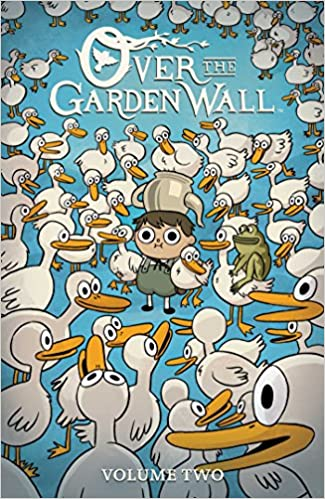 over the garden wall vol 2 jim campbell pat mchale cara mcgee 9781684150069 amazoncom books - Over The Garden Wall Comic