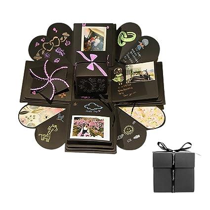 Gorgebuy - Álbum de Fotos con Caja de Regalo para Familia
