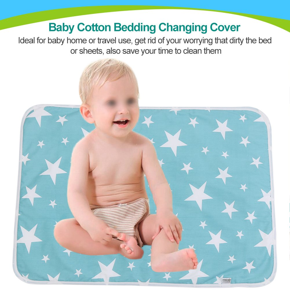 Waterproof Portable Baby Diaper Changing Mat Nappy Changing Pad Travel Table Changing Children Mattress Foldable Diaper Mat Crease-Resistance Nappy Changing