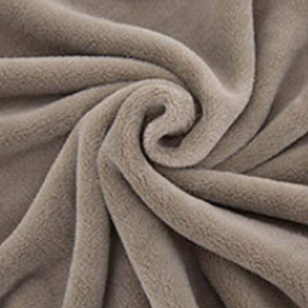 El/éphant marron Couverture peluche animaux Ultra personnalis/é ours en peluche Baby Nap couvertures 1 pi/èce