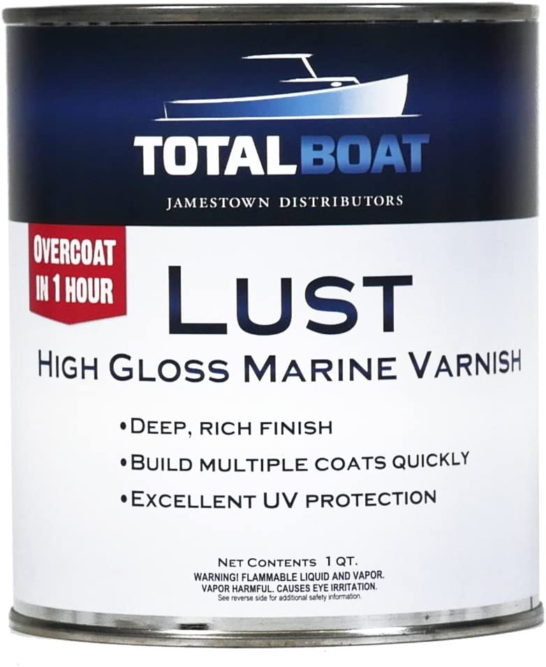 TotalBoat 482869 Lust Marine Varnish
