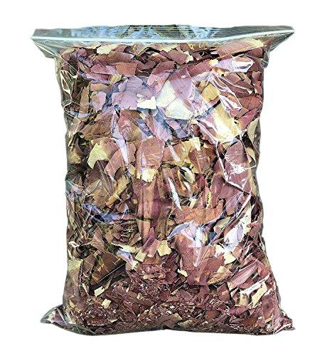 Vundahboah Amish Goods Cedar Wood Mulch Chips Shavings For Garden- Screech Owl House/Box- Organic Bedding (12 Quart (3 Gallon Bag)) by Vundahboah Amish Goods