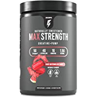 Inno Supps Max Strength - Advanced Creatine + Pump Booster, Creapure 5g, HMB 500mg, L-Citruline 4g, No Artificial…