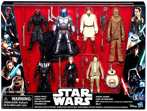 (Star Wars Saga Action Figure 8 Pack with Darth Maul)