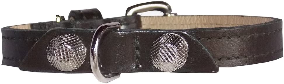 Balencioochee Straight Dog Collar Overseas parallel import regular item Rivets with Manufacturer regenerated product Silver