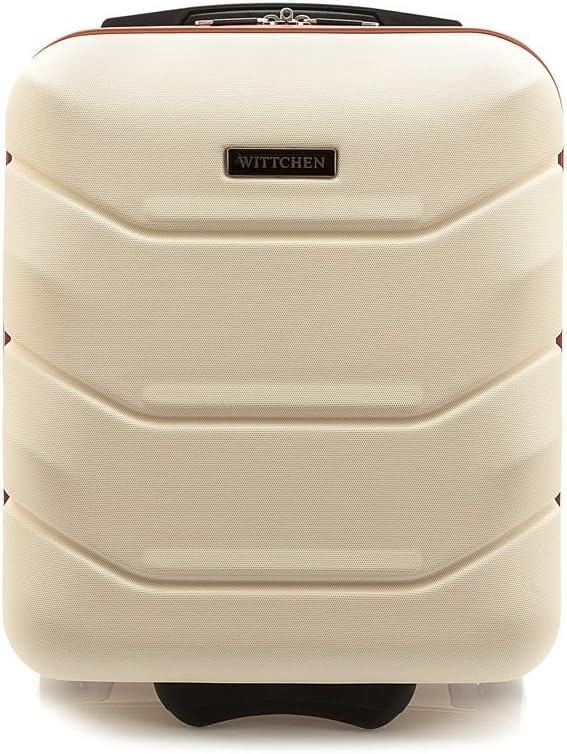 WITTCHEN Equipaje de mano, Maleta, Bianco, 42x32x25 cm, 25 Litro, Dimensión: Pequeña, XS, ABS -56-3A-281-88