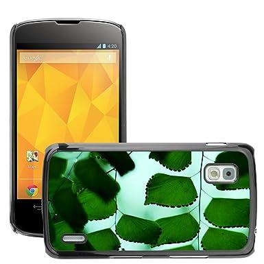 Negro Duro Carcasa Case//m00050199 verde Adiantum ...