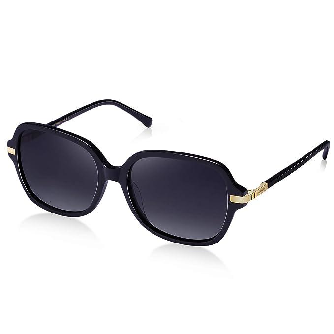 Amazon.com: AVAWAY Gafas de sol de gran tamaño vintage para ...