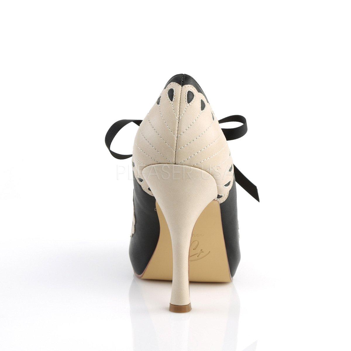 Pinup Couture Couture Couture Damen Maryjane Pumps Cutiepie-05 schwarz Creme b169d3