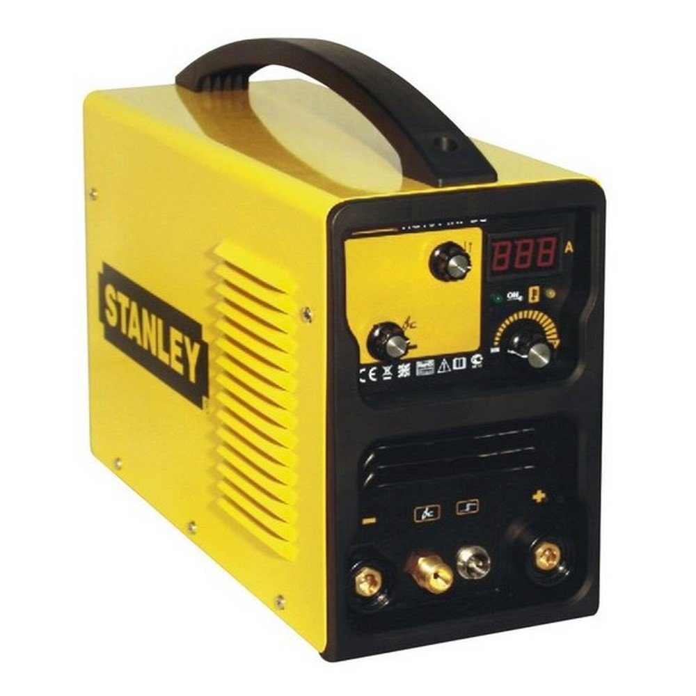 Stanley TIG161 HDFC Equipo de Soldadura para TIG DC, 3.2 W, 230 V, Amarillo y Negro: Amazon.es: Bricolaje y herramientas