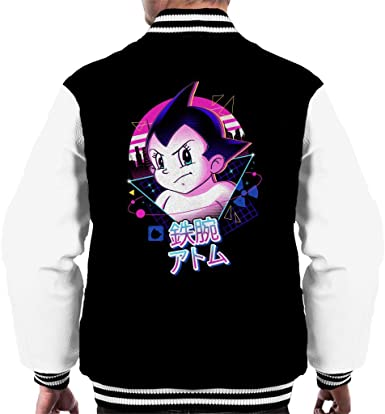 Retro 80 s Mighty Atom Astro Boy Tee-shirt Homme