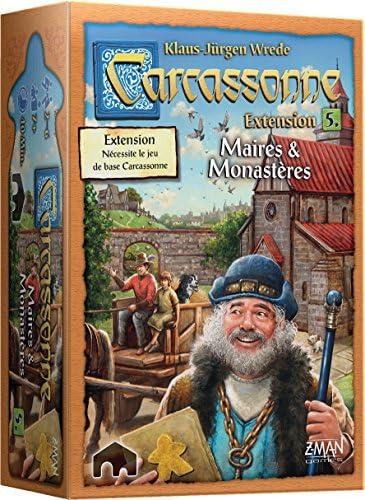 Asmodée – Carcassonne – Extensión 5 Alcalde y monastères, carc07 N, juego de estrategia , color/modelo surtido: Amazon.es: Juguetes y juegos