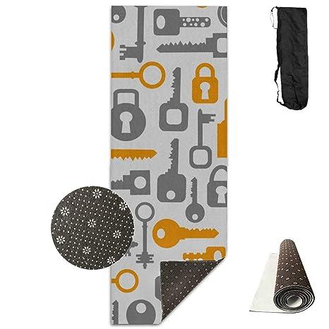 Amazon.com : Exercise Mat Keys Smart Little Convenient Non ...