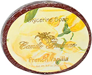 product image for Camille Beckman Glycerine Bar Soap, French Vanilla, 3.5 oz
