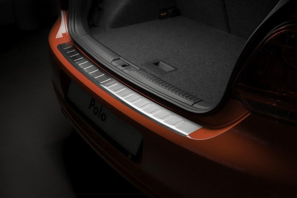 Avisa Edelstahl Hecksto/ßstangenschutz kompatibel mit Porsche Cayenne II 2010-2014 Ribs