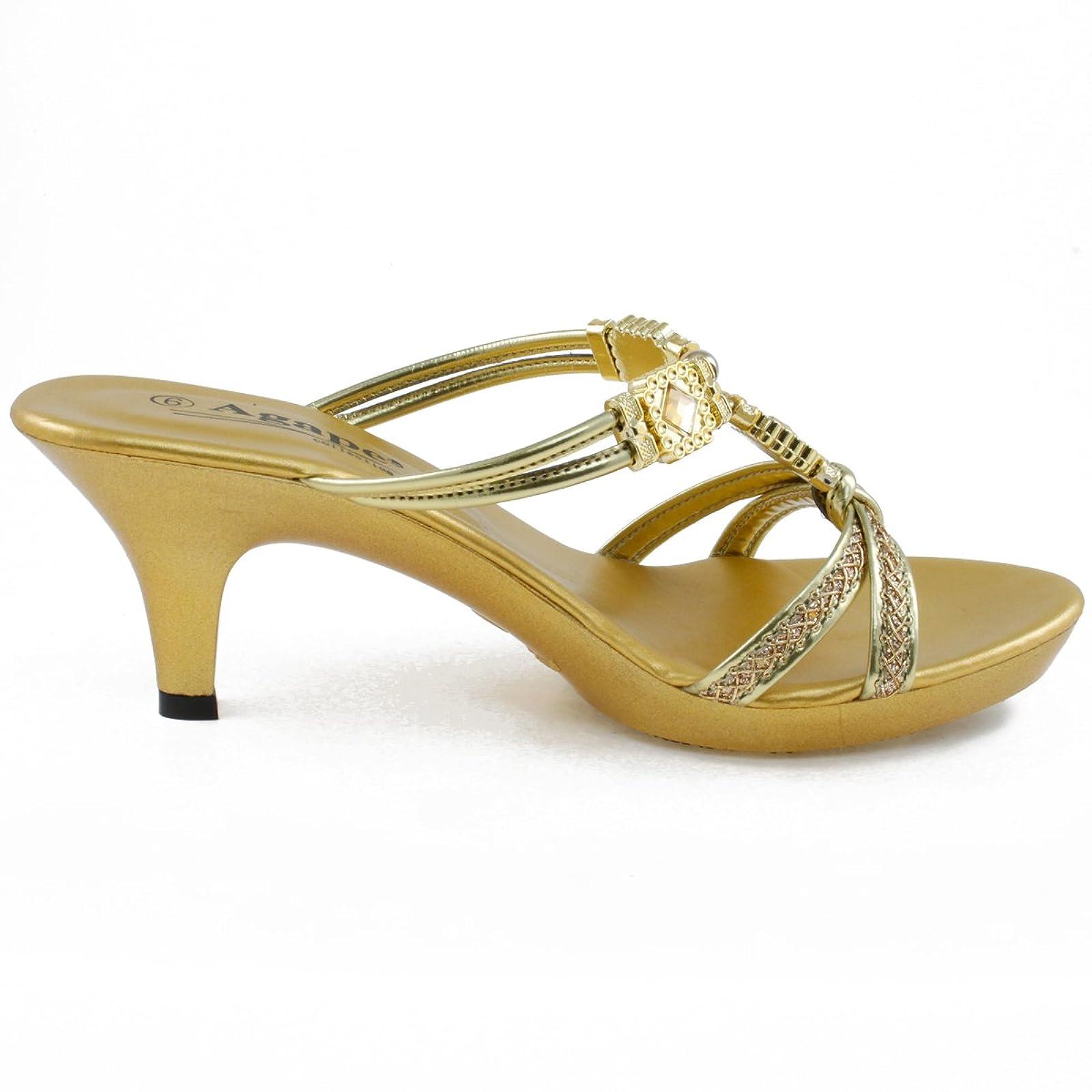 337b77e21f0 ... Agape KATHLEEN-30 Jeweled Platform Heel 7.5 M US - 4 ...