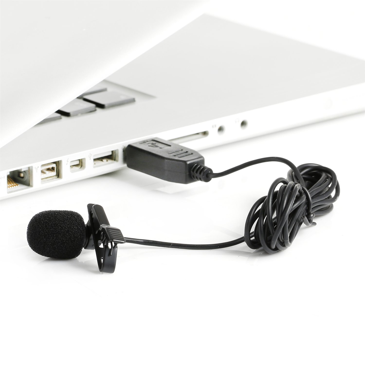 Saramonic Omnidirectional Lavalier Microphone with Standard USB Output to Computers Professional Video Microphone (SR-ULM5) by Saramonic