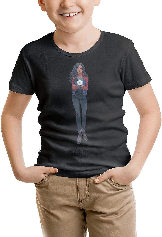 MOWAN Boys Short Sleeve Crew Neck T-Shirt Original Daily Tee