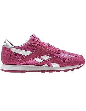 Reebok CL NYLON - Zapatillas de deporte, Niñas: Amazon.es: Zapatos y complementos