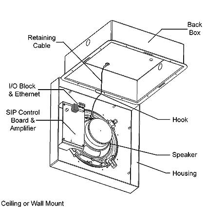 Amazon Com Algo 8189 Poe Sip Speaker For Paging Notification