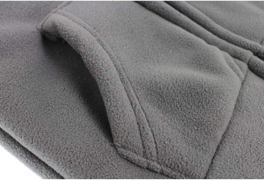 Baby com capuz de lã escovada com zíper Moletom para meninos e meninas tamanhos de bolso Canguru