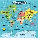 Mudpuppy Our World Jumbo Puzzle