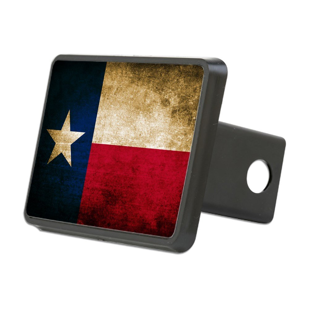 CafePress Vintage Flag of Texas Trailer Hitch Cover, Truck Receiver Hitch Plug Insert by CafePress