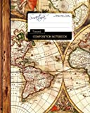 Travel Composition Notebook: Large College Ruled Writer's Notebook