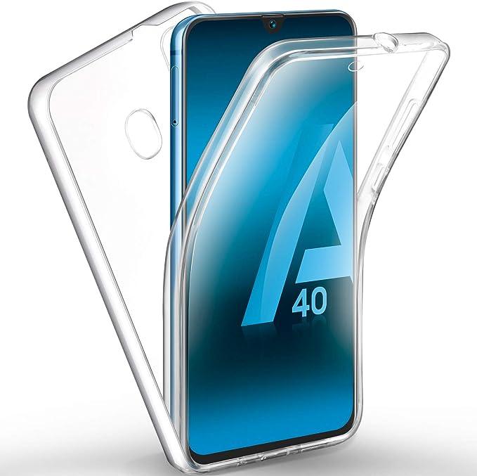 AROYI Funda Samsung Galaxy A40, Ultra Slim Doble Cara Carcasa ...