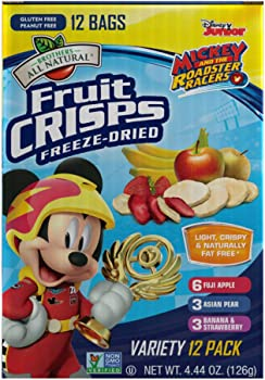 12-Pack Brothers-ALL-Natural Mickey Mouse Clubhouse Variety Fruit Crisps