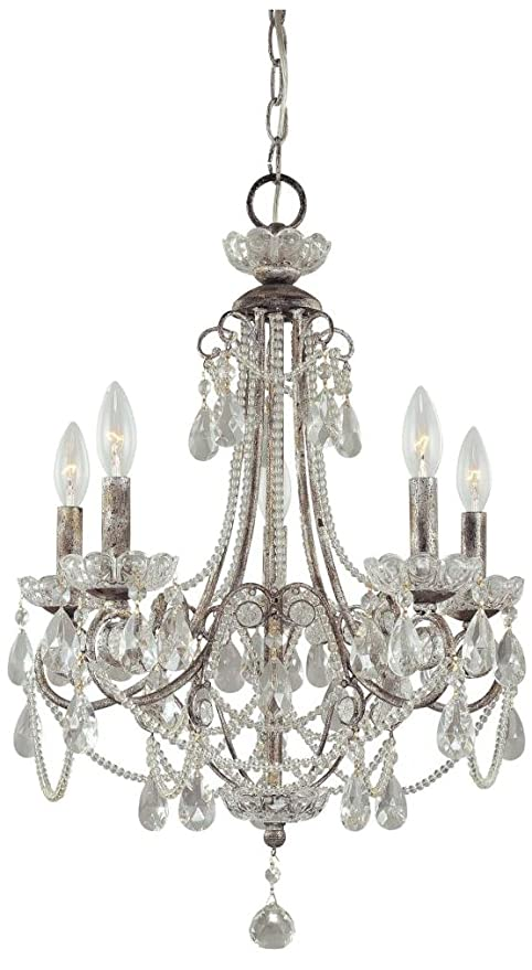 Minka Lavery 3134 207 Miniature Chandeliers Crystal Chandelier Lighting 5 Light 300