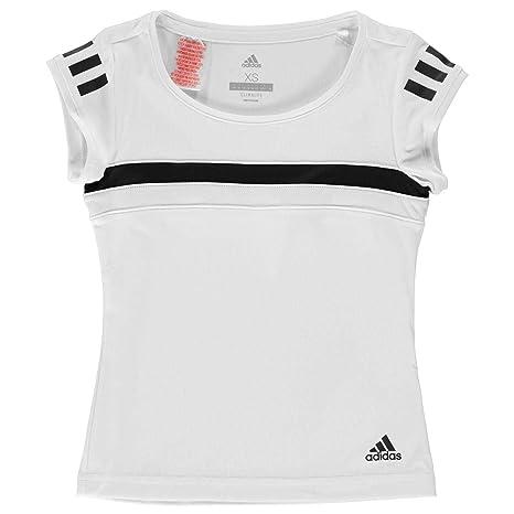 adidas Graphic Club Camiseta, Niñas, Blanco, 116