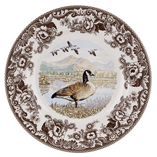 Spode 1597105 Woodland Canadian Goose Dinner Plate