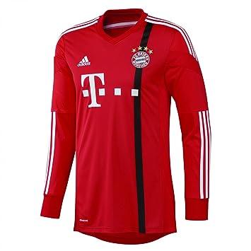 classic ee0d1 98ded adidas Men's Goalkeeper Jersey Bayern Munich Football ...
