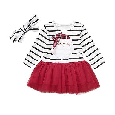 Amazon.com: Vestido de Navidad para bebés, diseño de Papá ...