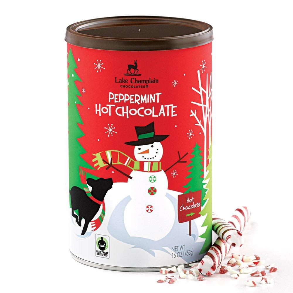 Amazon.com : Lake Champlain Holiday Peppermint Hot Chocolate, 21 ...