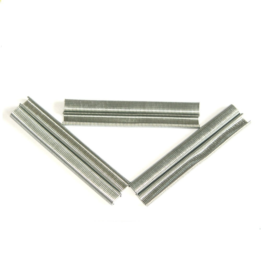 meite SC760 16 Gauge 1/2-Inch C Ring Staples in 304 Stainless Steel for SC760B C Ring Gun Tools Inside Diameter of 3.2-4.8mm 18,000 PCS/BOX (1 small Pack (4500 PCS))