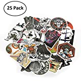 Tearcam Stickers,Waterproof Vinyl Stickers Car Sticker Motorcycle Bicycle Luggage Decal Graffiti Patches Skateboard Stickers for Laptop Stickers 25 PCS