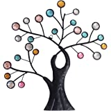 "Comfy Hour 12"" Colorful Metal Art Tree Wall decor"