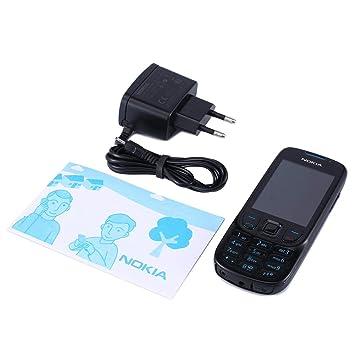 Reacondicionado para Nokia 6303 Clásico 2.2 Pulgadas de Metal ...