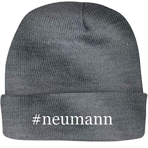 Shirt Me Up #neumann - A Nice Hashtag Beanie Cap, Grey, ()