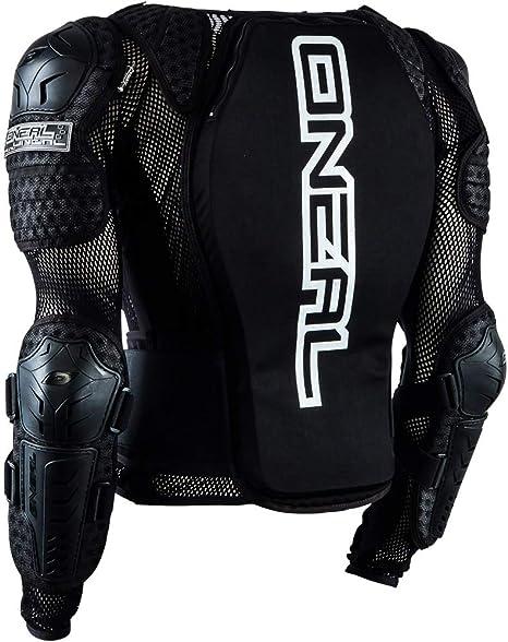O Neal Underdog Protector Jacket Youth Kinder Protektorenjacke Schwarz Oneal Bekleidung