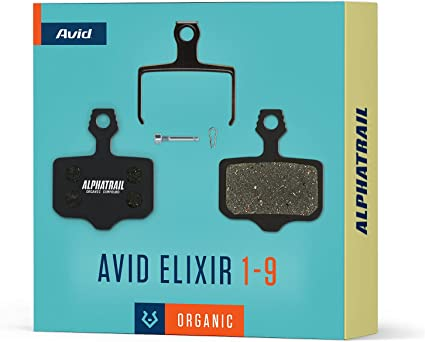 Quatre Jeux Avid Elixir 1-3-5-7-r-cr-carbon-x9-x0-xx Plaquette Frein à Disque