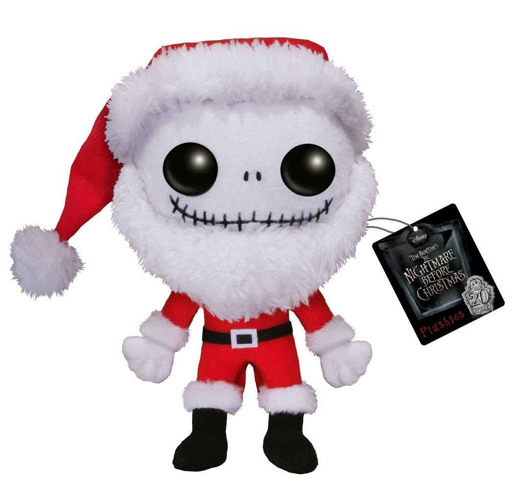 "7/"" SANTA JACK plush THE NIGHTMARE BEFORE CHRISTMAS plushies FUNKO POP figure NBX"