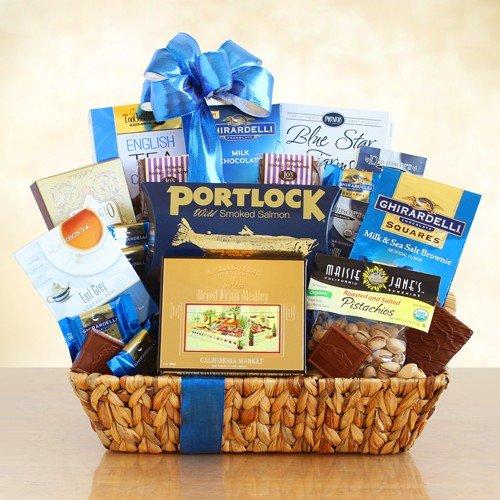 Hanukkah Cookie Basket - Kosher Favorites Gift Basket