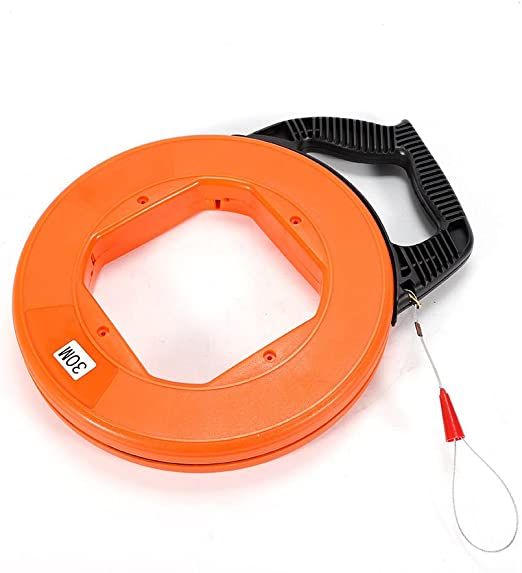 4mm Fish Tape Fiberglass Wire Cable Duct Puller Tool