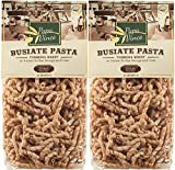 Papa Vince Pasta Whole Grain - Low Gluten | High Fiber | Sugar Free | NON GMO | Tumminia, ancient grain Sicily, Italy |counteracts food intolerance & decreases intestinal disorders | 1 lb (2-Pack)