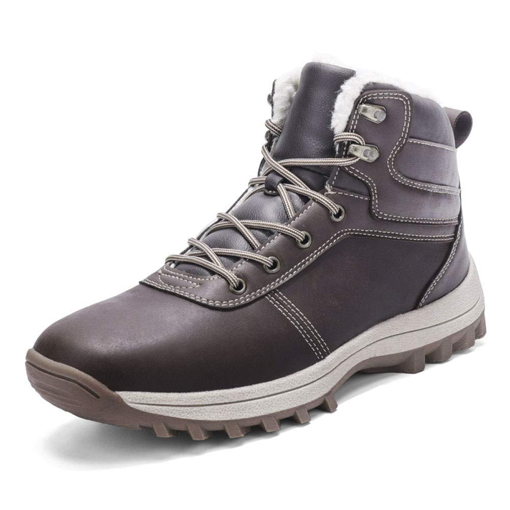 Bottes Hiver Neige Homme Chaussures de Randonné e Impermé able Confortable Chaudes d'hiver Boots happygo!