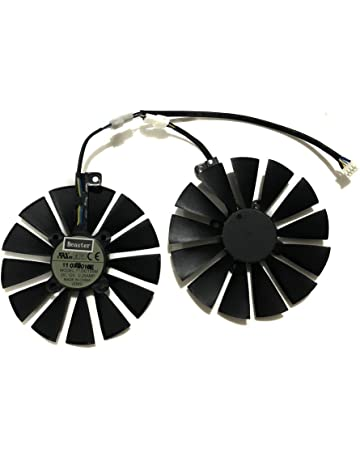 iHaospace 95MM T129215SM FDC10M12S9-C 4Pin 12V Graphics Card Fan for ASUS ROG Strix GTX
